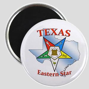 Texas Eastern Star Magnet