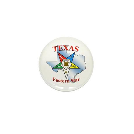 Texas Eastern Star Mini Button (10 pack)