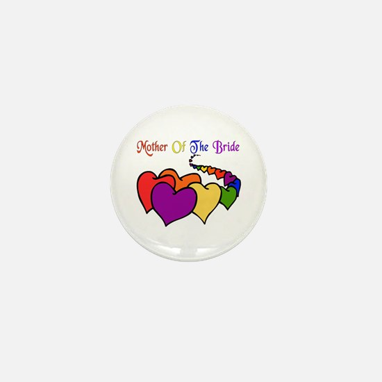 Mother Of The Bride Mini Button