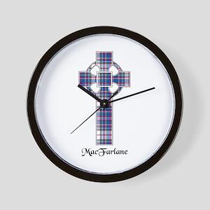 Cross-MacFarlane dress Wall Clock