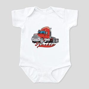Truckin' Infant Bodysuit