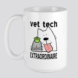 Vet Tech Extraordinaire Large Mug