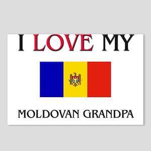 I Love My Moldovan Grandpa Postcards (Package of 8