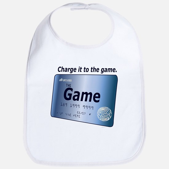 Charge It To the Game Bib