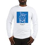 moo print Long Sleeve T-Shirt