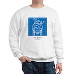 moo print Sweatshirt