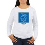 moo print Women's Long Sleeve T-Shirt