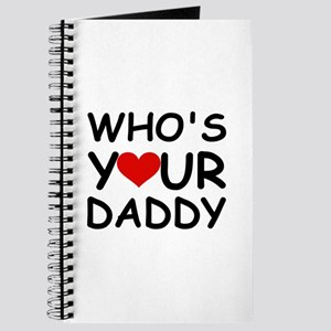 WHO'S YOUR DADDY Journal