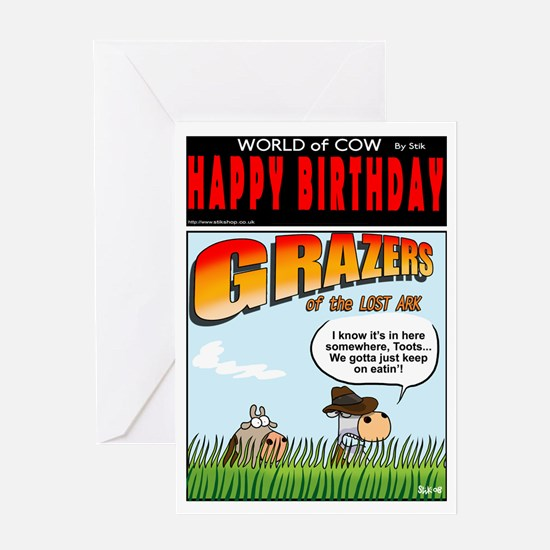 Grazers of the Lost Ark Greeting Card