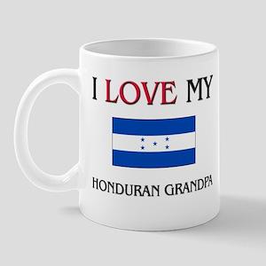 I Love My Honduran Grandpa Mug