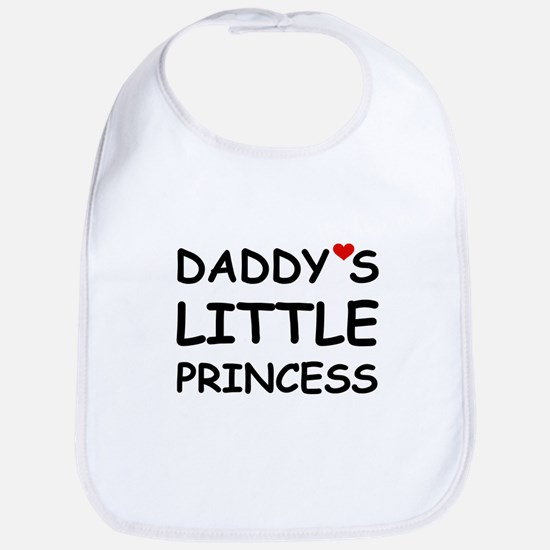 DADDY'S LITTLE PRINCESS Bib