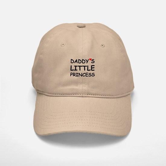 DADDY'S LITTLE PRINCESS Baseball Baseball Cap