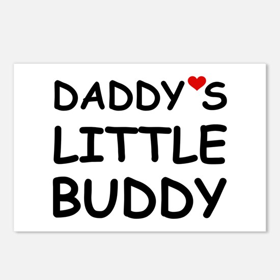 DADDY'S LITTLE BUDDY Postcards (Package of 8)