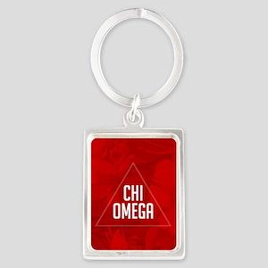 Chi Omega Keychains