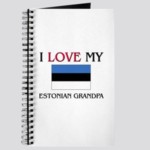 I Love My Estonian Grandpa Journal