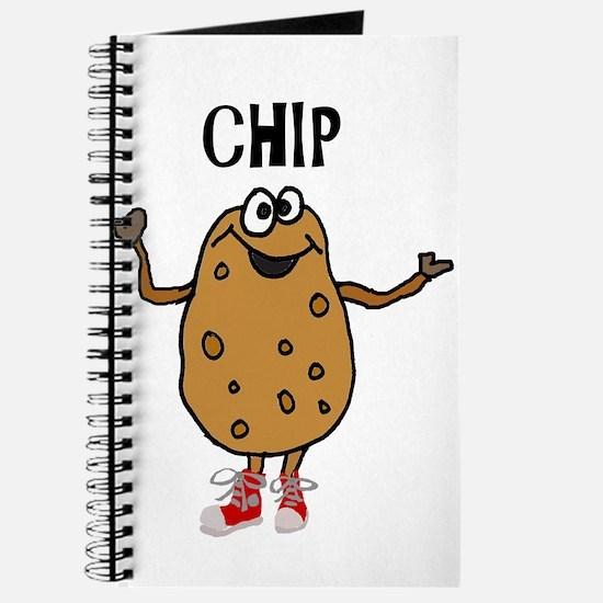 Funny Potato Named Chip Journal