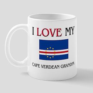 I Love My Cape Verdean Grandpa Mug