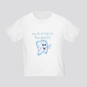 My First Trip to Dentist Toddler T-Shirt