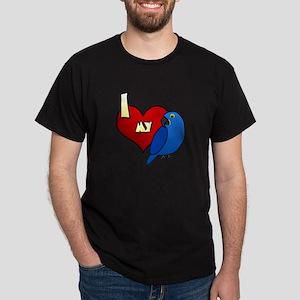 Love Hyacinth Macaw Dark T-Shirt