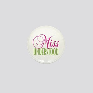 Miss Quoted Mini Button (10 pack)