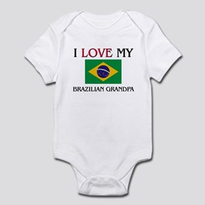 I Love My Brazilian Grandpa Infant Bodysuit