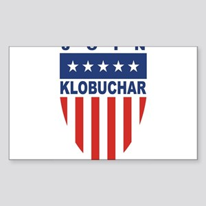 Join Amy Klobuchar Rectangle Sticker