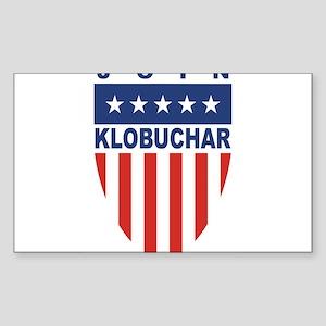 Join Amy Klobuchar Rectangle Sticker