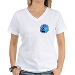 Nor'easters Club Women's V-Neck T-Shirt