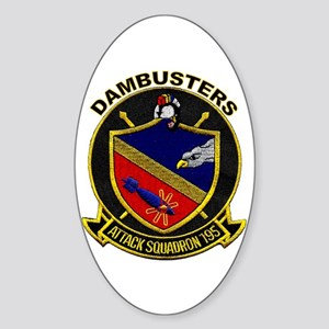 VFA 195 Dambusters Oval Sticker