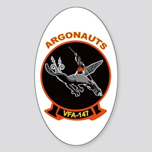 VFA 147 Argonauts Oval Sticker