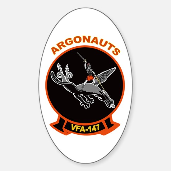 VFA 147 Argonauts Oval Decal