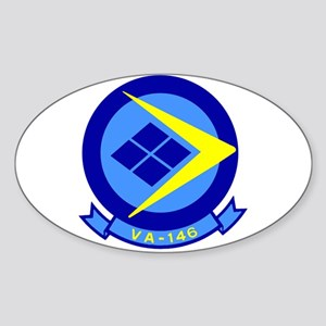 VFA 146 Blue Diamonds Oval Sticker