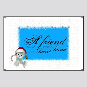 a friend angle Banner