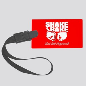 Shake and Bake Large Luggage Tag