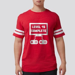 Level 15 Complete 15th Birthday T-Shirt