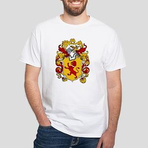 Mallory Family Crest White T-Shirt