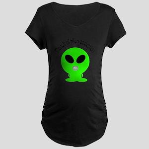 Alient Abduction Maternity T-Shirt