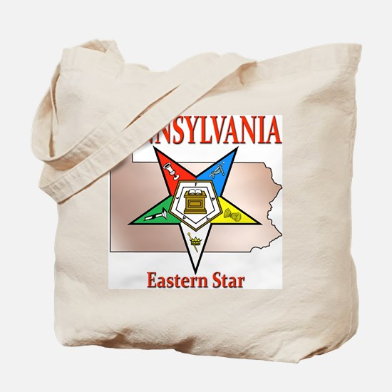 Pennsylvania Eastern Star Tote Bag