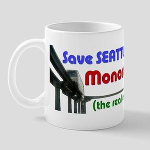 Save Seattle's Monorail Mug