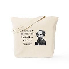 Charles Dickens 17 Tote Bag