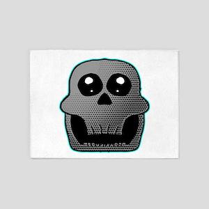 Skull 5'x7'Area Rug