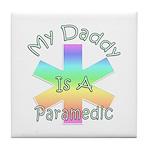 Paramedic Dad Tile Coaster