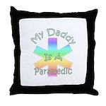 Paramedic Dad Throw Pillow