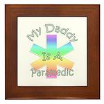 Paramedic Dad Framed Tile