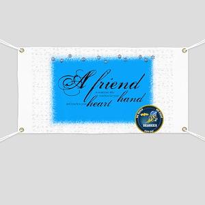 a friend seabee Banner