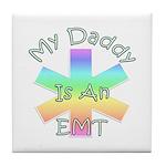 EMT Daddy Tile Coaster
