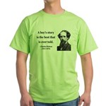 Charles Dickens 15 Green T-Shirt