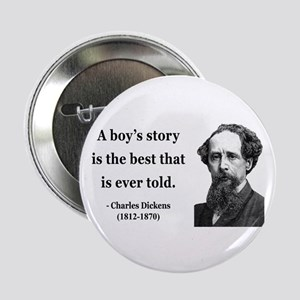 """Charles Dickens 15 2.25"""" Button"""