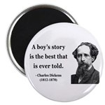 Charles Dickens 15 Magnet