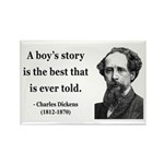 Charles Dickens 15 Rectangle Magnet